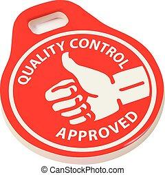 ellenőrzés, minőség, jóváhagyott