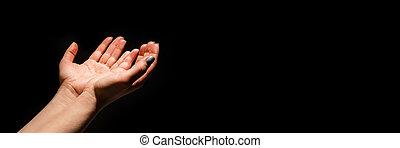 ellenvetés, ellen, feláll, kézbesít, fekete, horgonykapák, vagy, ki, hiány