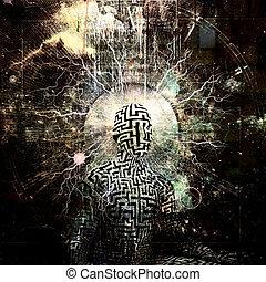 elmélkedés, erő