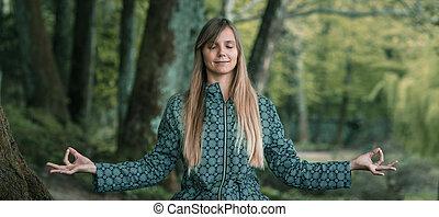 elmélkedés, mindfulness