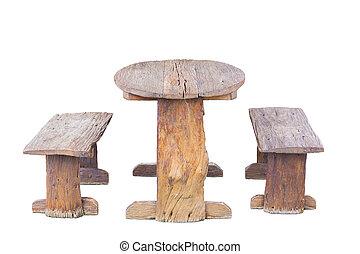 elnökké választ, asztal, erdő, öreg