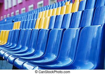 elnökké választ, stadion, műanyag