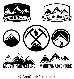 elnevezés, hegy, állhatatos, kaland, szüret