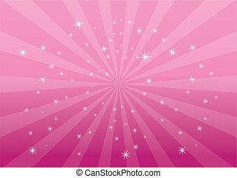 elpirul háttér, rózsaszínű, fény