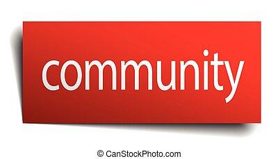 elszigetelt, közösség, aláír, dolgozat, white piros
