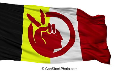 elszigetelt, lobogó, seamless, american indian, bukfenc, mozgalom