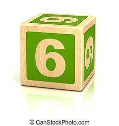 eltöm, fából való, hat, szám 6, betűtípus