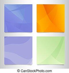 elvont, állhatatos, színes, backgrounds.