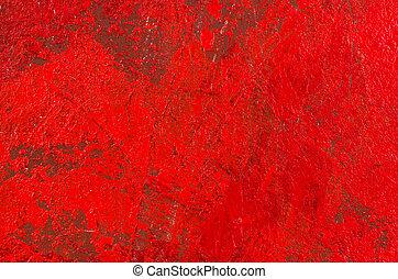 elvont, akril, háttér, piros