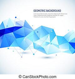 elvont, geometriai, háttér, 3