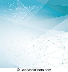 elvont, hálózat, háttér