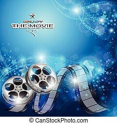 elvont, háttér, mozi