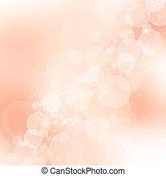 elvont, háttér, rózsaszínű, romantikus