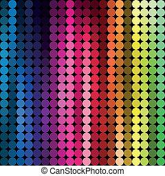 elvont, háttér, többszínű
