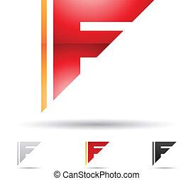 elvont, ikon, levél f