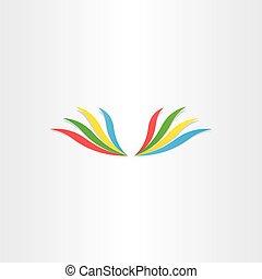 elvont, kasfogó, színes, ikon