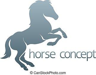 elvont, ló