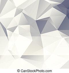 elvont, mód, dolgozat, háromszögű, háttér