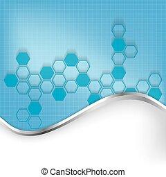 elvont, molekulák, háttér, orvosi