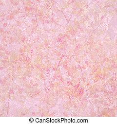 elvont, pasztell, textured, rózsaszínű, peachy