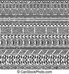 elvont, pattern., seamless, háttér., vektor, etnikai