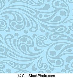 elvont, pattern., seamless, víz, loccsanás, lenget