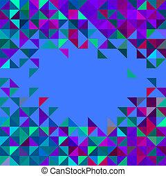 elvont, vektor, geometriai, háttér