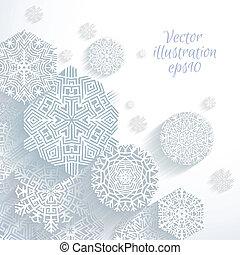elvont, vektor, hópihe, 3
