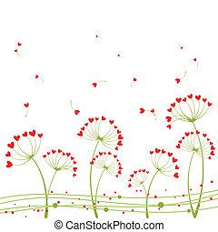 elvont, virág, szeret, tavasz