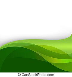 elvont, zöld háttér, természet