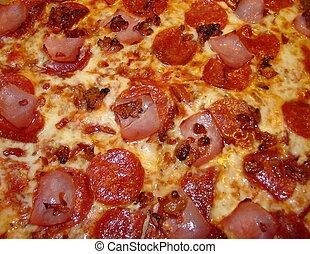 elzáródik, pizza