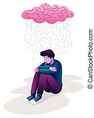 ember, depresszió