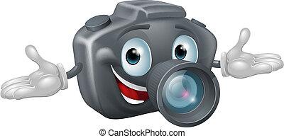 ember, fényképezőgép