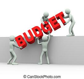 emberek, -, 3, költségvetés, fogalom