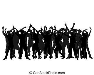 emberek, dancin