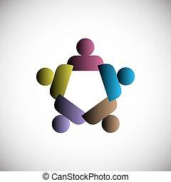 emberek, fogalom, egység