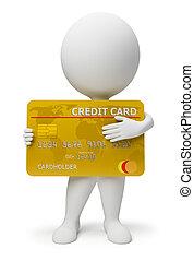 emberek, -, hitel, kicsi, kártya, 3