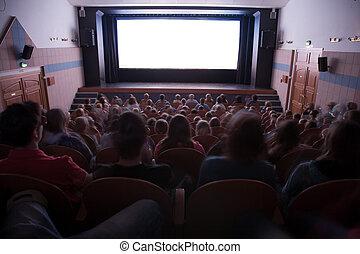 emberek, mozi, előadóterem