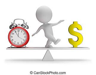 emberek, pénz, -, idő, kicsi, 3