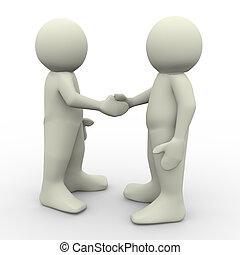 emberek reszkető kezezés