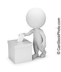 emberek, szavazás, -, 3, kicsi