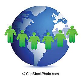 emberek, világ, mindenfelé