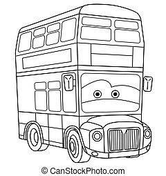 emeletes busz, london, autóbusz
