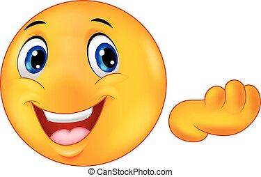 emoticon, smiley, karikatúra, boldog