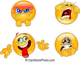 emoticons, érzelmek