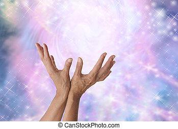 energia, érzék, varázslatos, gyógyulás