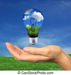 energia, belül, elér, megújítható
