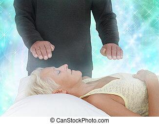 energia, csatornázás, gyógyulás