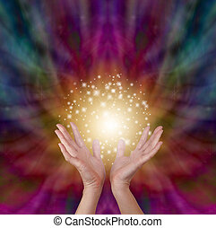 energia, varázslatos, gyógyulás