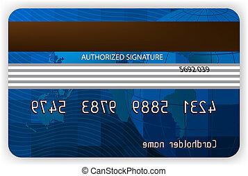 eps, hát, hitel, 8, nézet., kártya